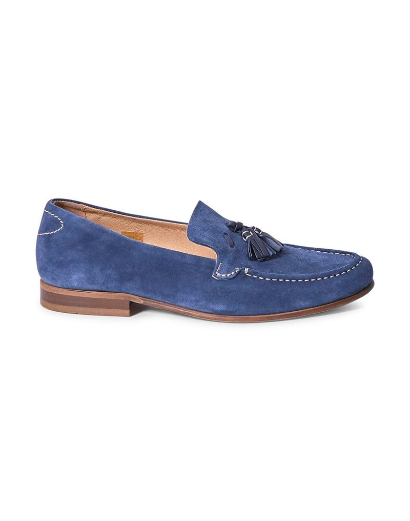 Hudson - Bernini Suede Loafer Blue