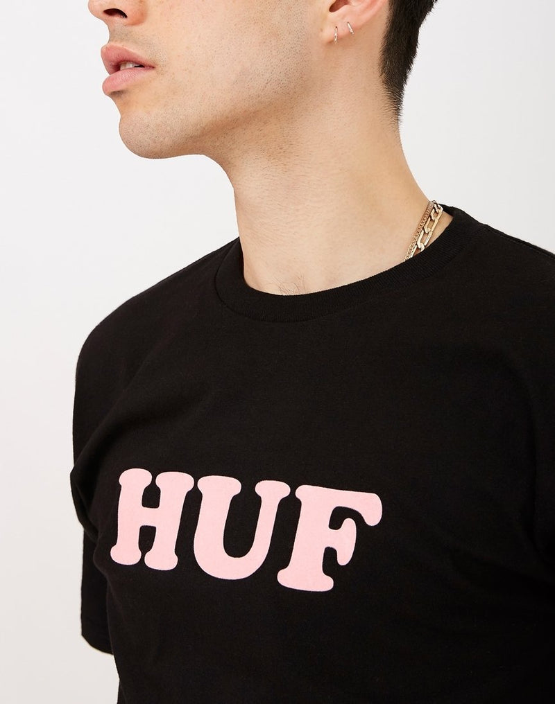 HUF - Cooper Flock T-Shirt Black
