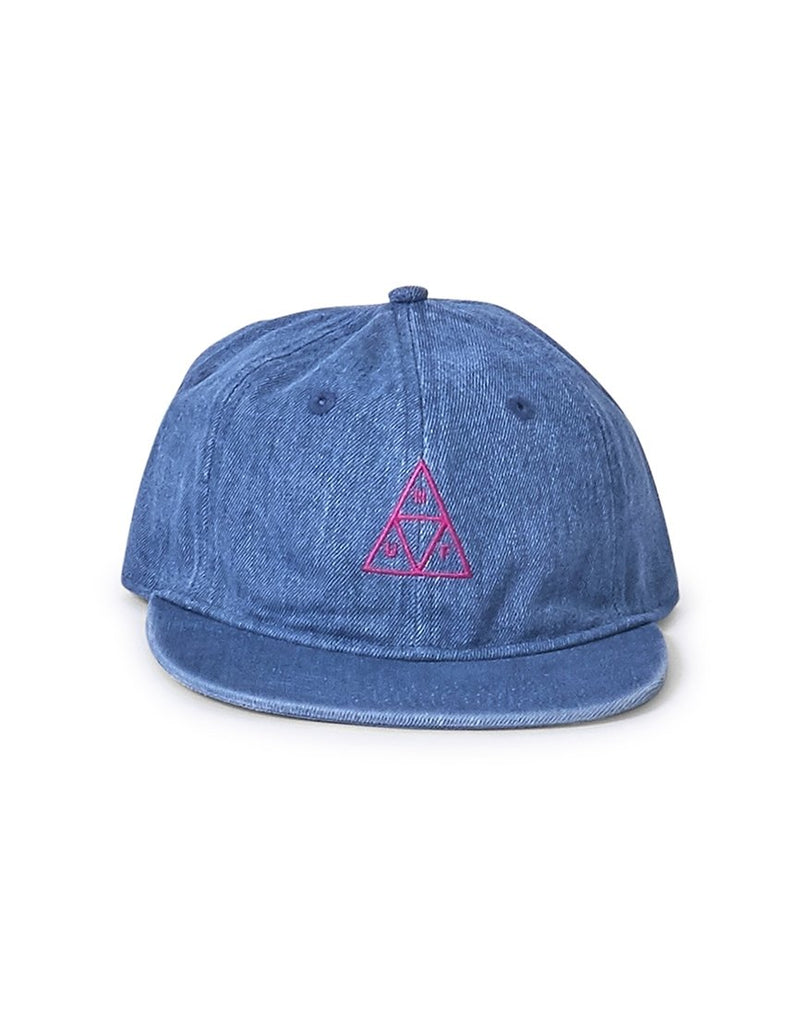 HUF - Formless Denim Triple Triangle Hat Blue