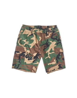 HUF - Standard Issue Cargo Short Green Camouflage