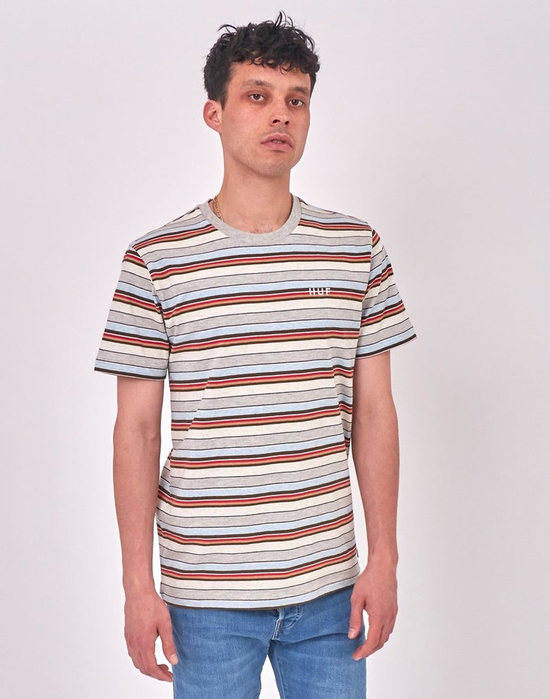 HUF - Off Shore Stripe T-Shirt Blue