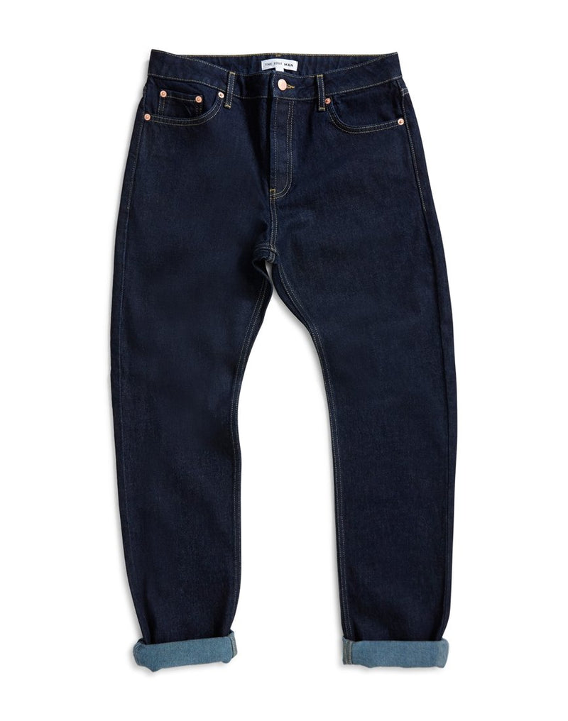 The Idle Man - Raw Rigid Taper Jeans