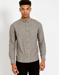 The Idle Man - Oxford Shirt Grey