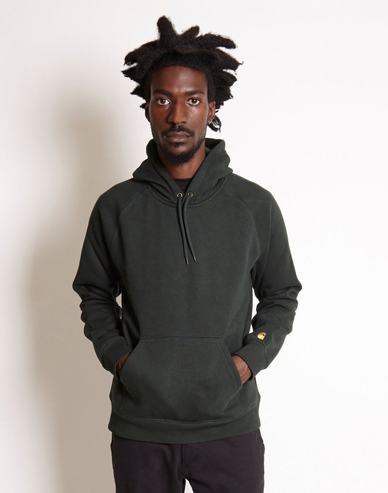 Carhartt WIP - Hooded Chase Sweatshirt Green
