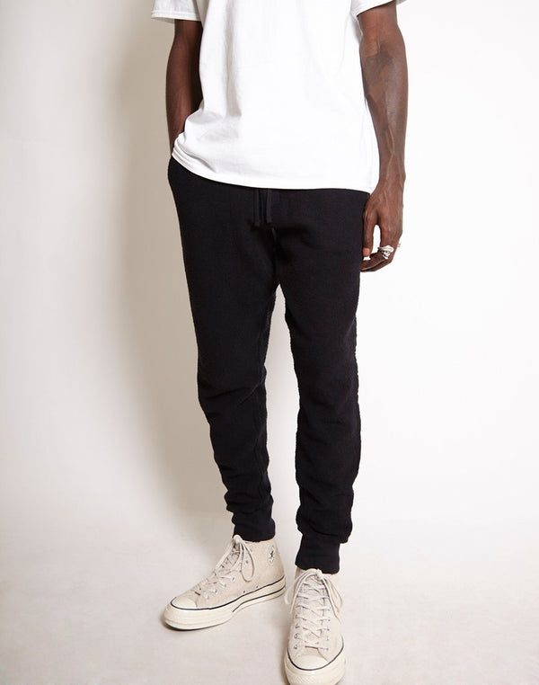 Saturdays NYC - Ken Tape Sweat Pant Black