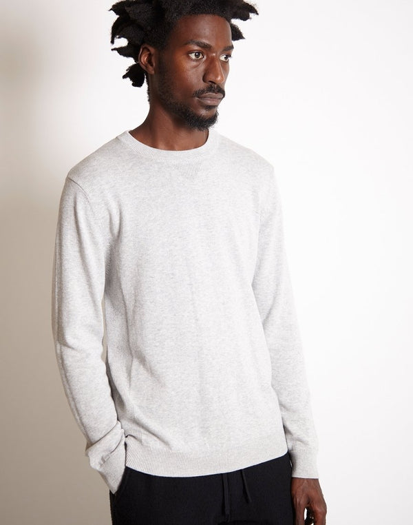 Saturdays NYC - Everyday Classic Sweater Grey