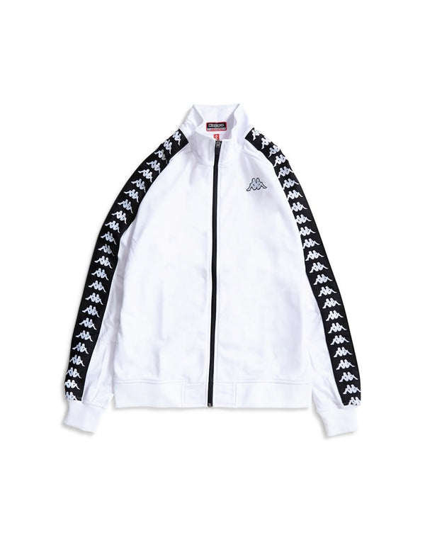 Kappa - Anniston Jacket White & Black