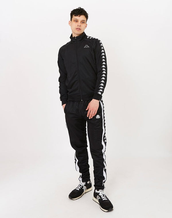Kappa - Luis Auth Trousers Black & White