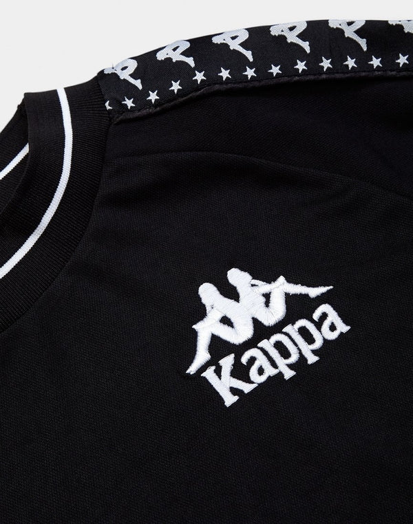Kappa - Authentic Aneat Sweatshirt Black & White