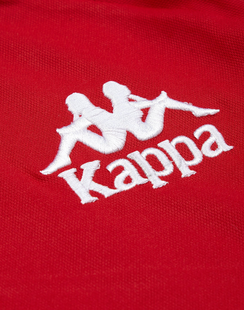 Kappa - Authentic Aneat Sweatshirt Red & Black