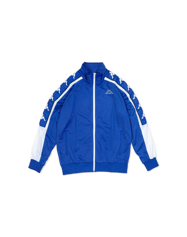 Kappa - Banda 10 Ahran Zip Up Jacket Blue & White