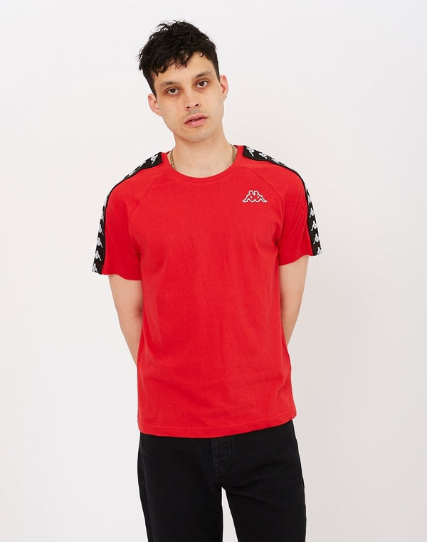 Kappa - Coen T-Shirt Dark Red & Black