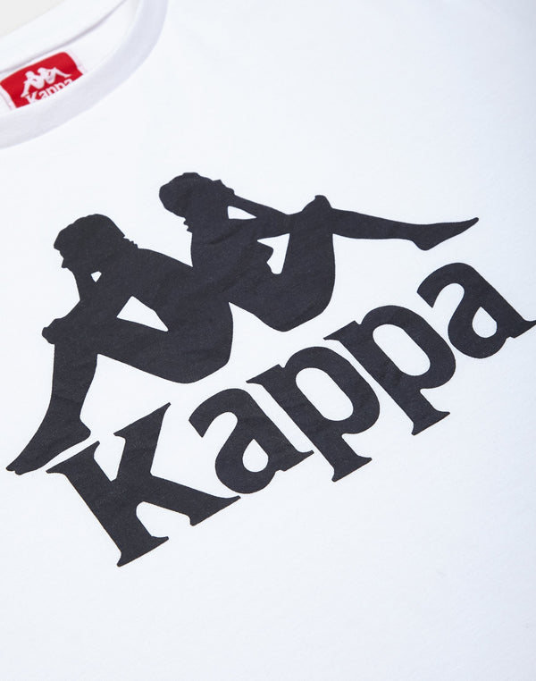 Kappa - Estessi T-Shirt White & Black