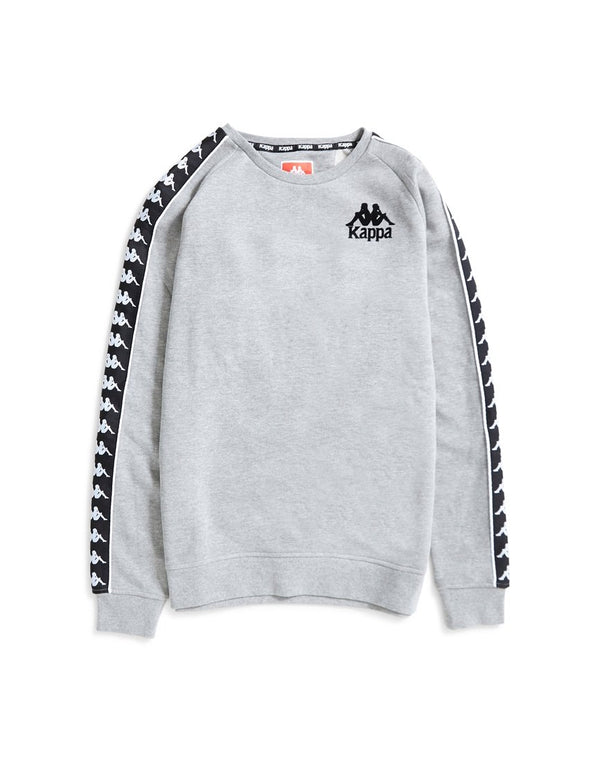 Kappa - Hassan Sweatshirt Grey & Black
