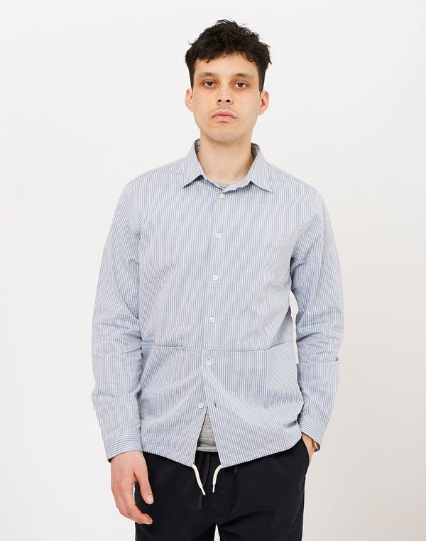 Kestin Hare - Armadale Shirt Blue Striped