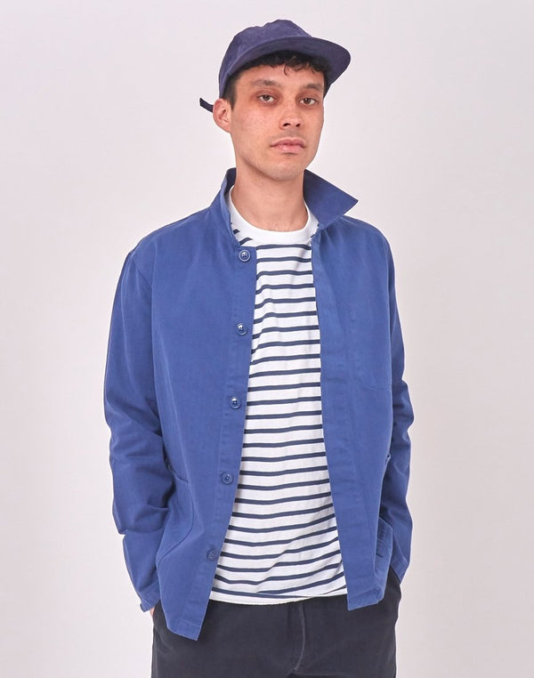 Kestin Hare - Leith Shirt Jacket Navy
