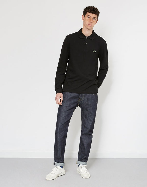 Lacoste - Long Sleeve Polo Shirt Black
