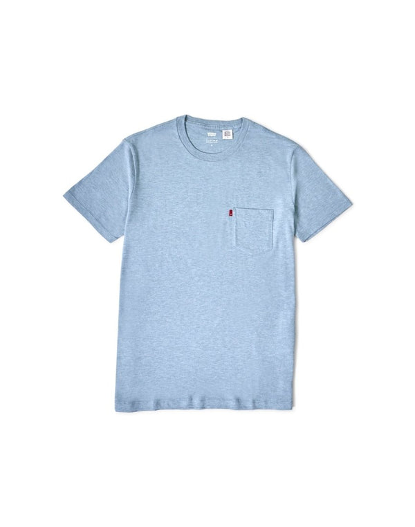 Levi's - Set-In Sunset Pocket T-Shirt Blue