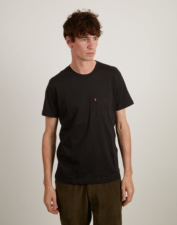 Levi's - Set-In Sunset Pocket T-Shirt Black