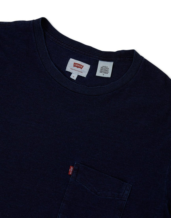 Levi's - Short Sleeve Set-In Sunset Pocket T-Shirt Blue