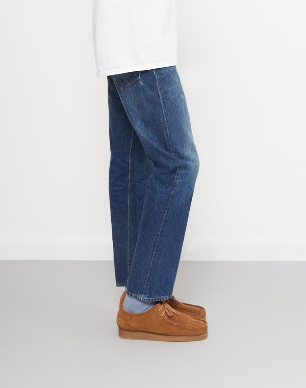 Levis - Vintage Clothing 1954 501 Customized Jeans Blue
