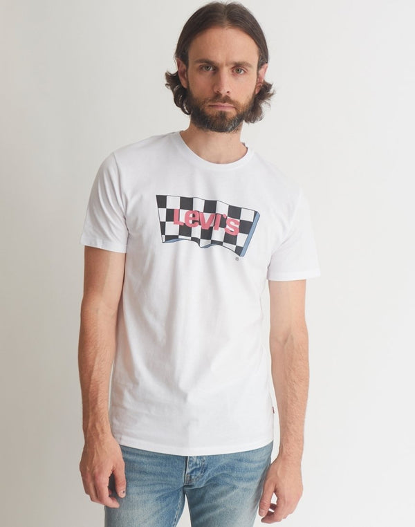 Levi's - Housemark Graphic T-Shirt White