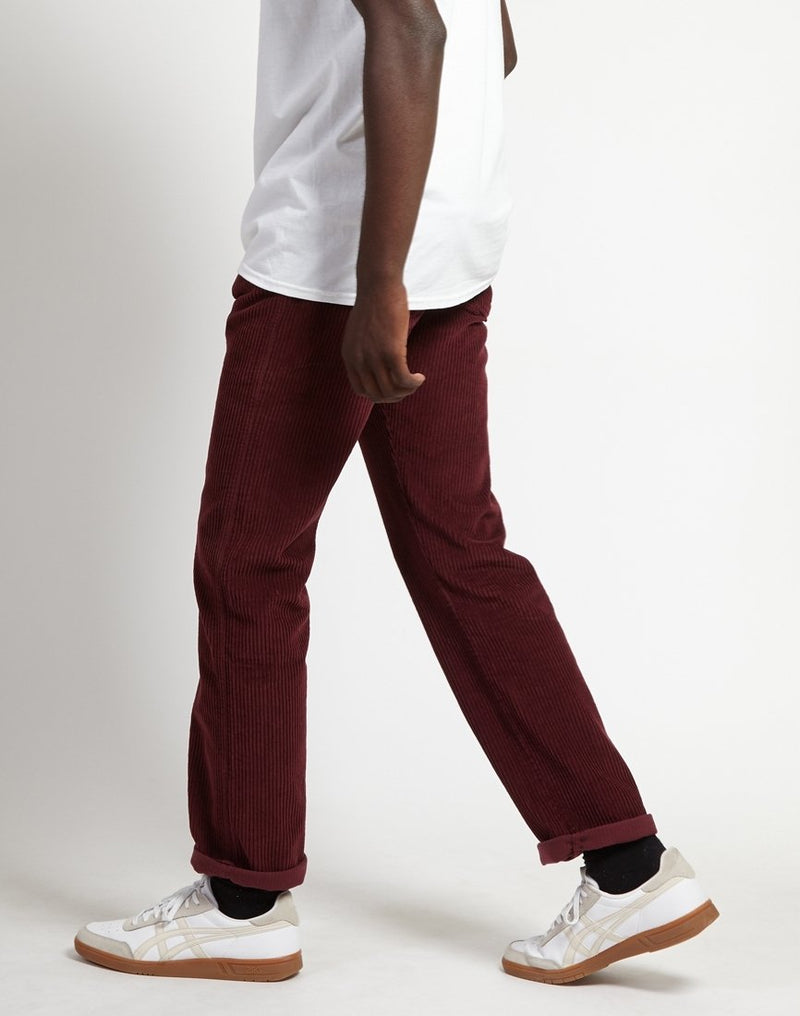 Lois Jeans - New Dallas Jumbo Cord Pant Burgundy