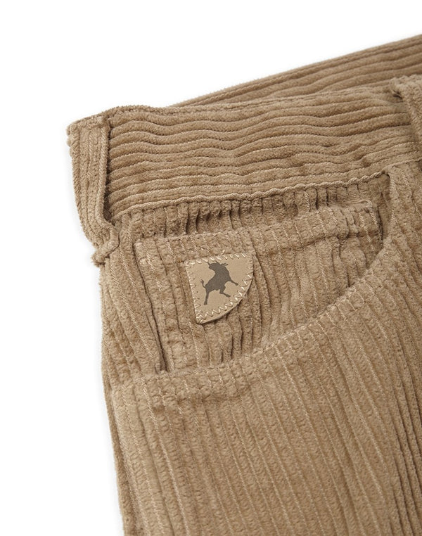 Lois Jeans - New Dallas Jumbo Cord Trousers Tan