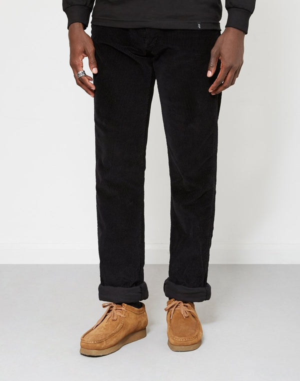 Lois Jeans - New Dallas Jumbo Cord Trousers Black