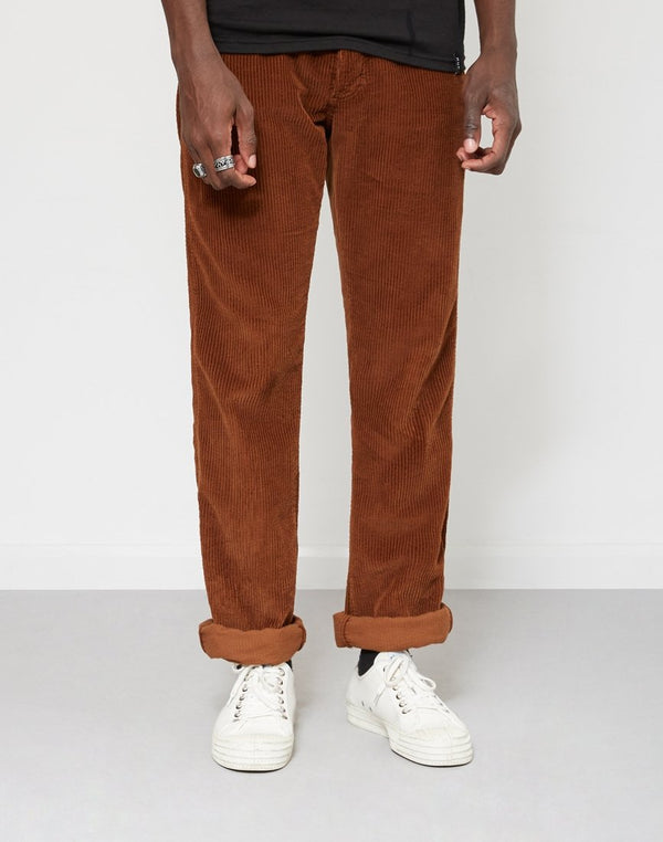 Lois Jeans - New Dallas Jumbo Cord Trousers Brown