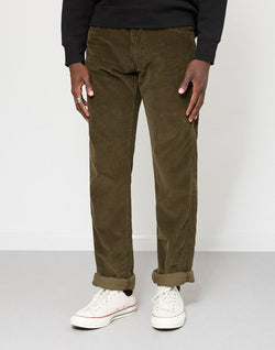 Lois Jeans - New Dallas Jumbo Cord Trousers Green