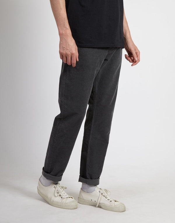 Lois Jeans - Sierra Slim Fit Needle Cord Pant Charcoal Grey