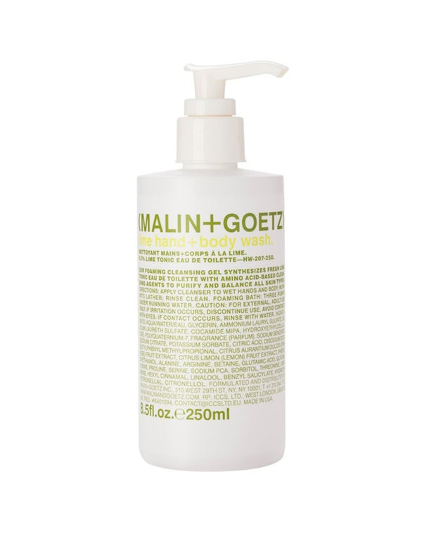 Malin & Goetz - Lime Hand & Body Wash 250ml