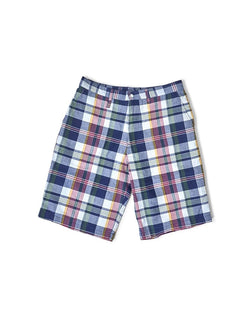 Manastash - Madras Sunday Shorts Red