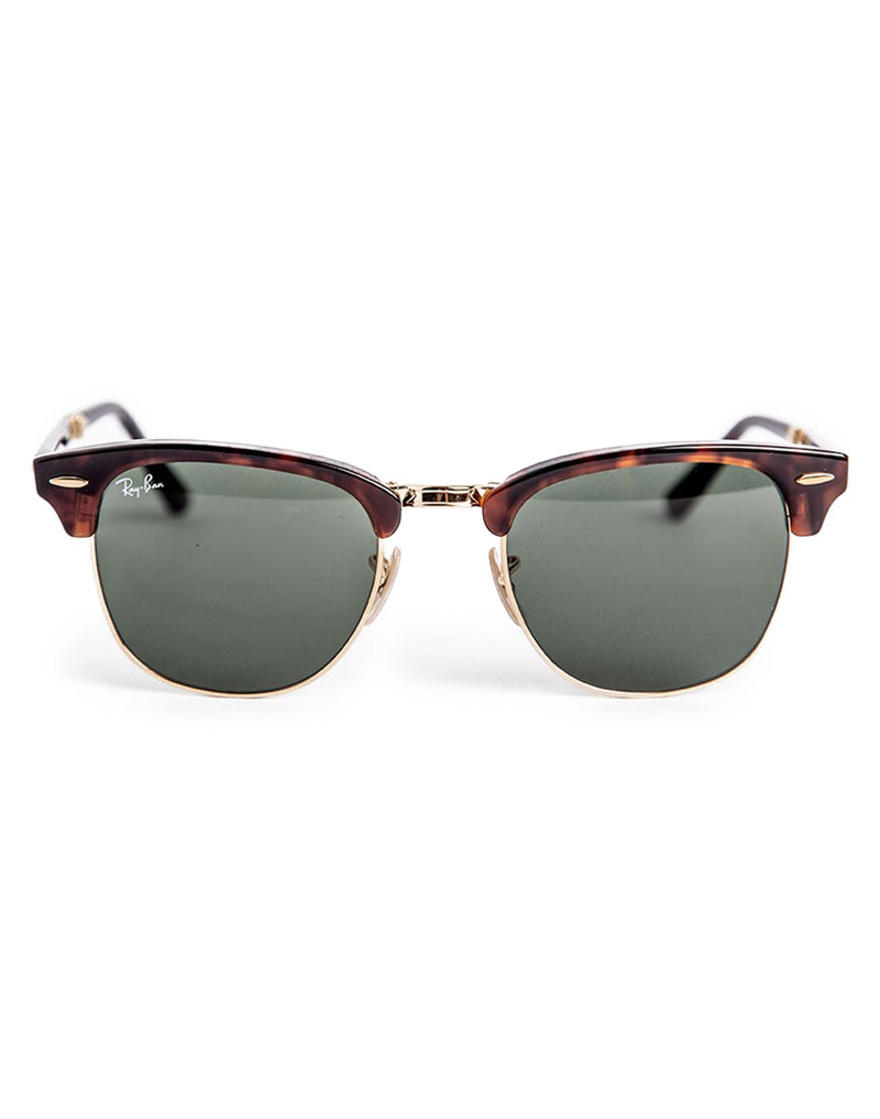 Ray Ban - Iconic Folding Clubmaster Sunglasses RB2176 990