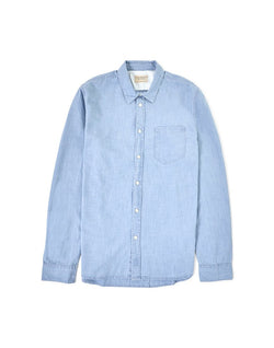 Nudie Jeans Co - Henry Chambray Shirt Blue