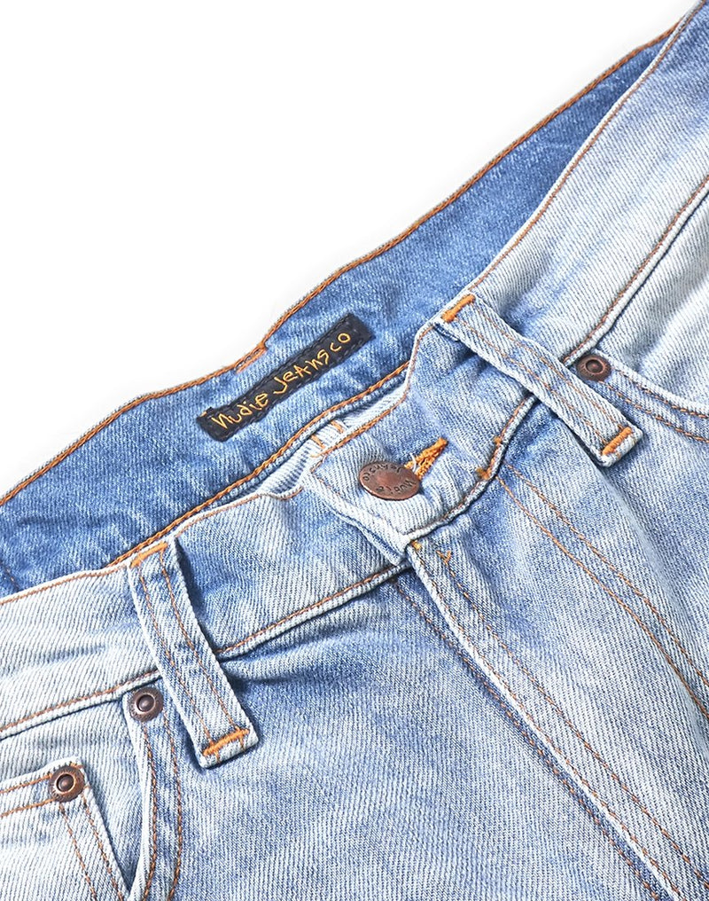 Nudie Jeans Co - Lean Dean Classic Used Jeans Blue