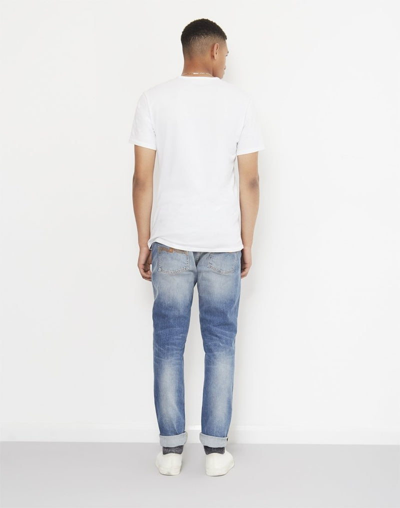 Nudie Jeans - Co Lean Dean Crinkle Jeans Blue