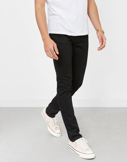 Nudie Jeans Co - Lean Dean Dry Ever Jeans Black