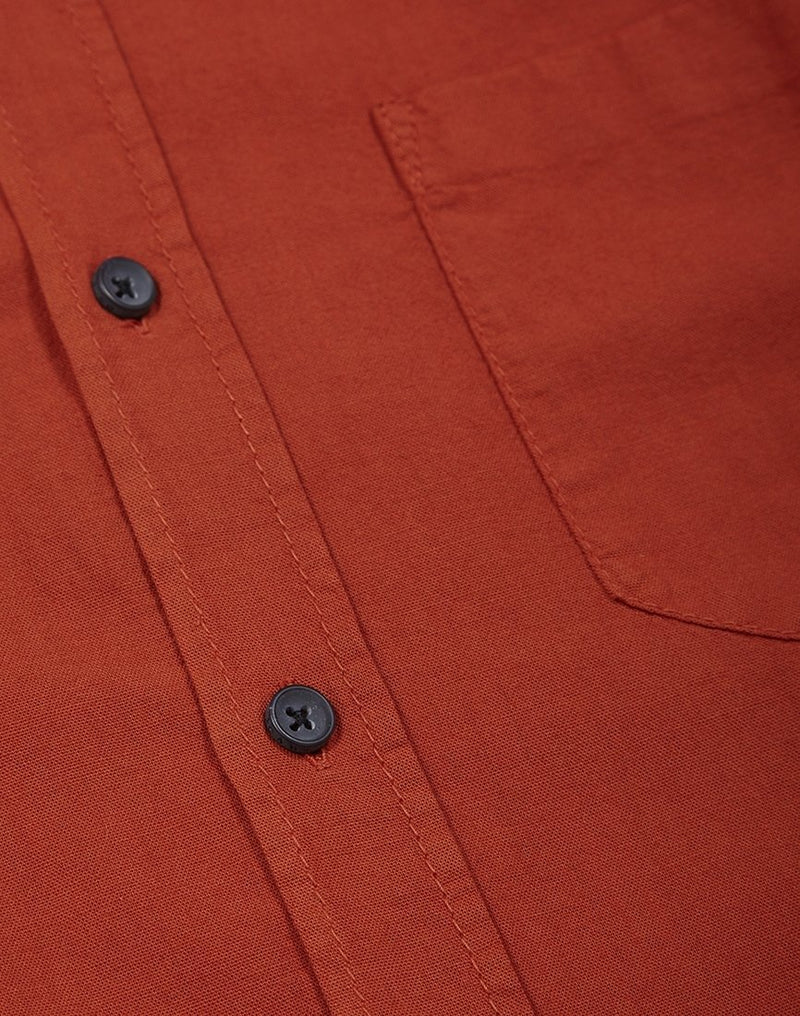 Nudie Jeans Co - Henry Shirt Rust