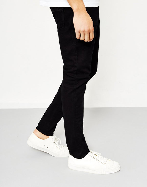 Nudie Jeans Co - Skinny Lin Black Habit Jeans
