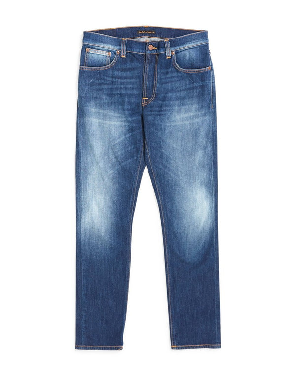 Nudie Jeans Co - Lean Dean Ridge Jeans Blue