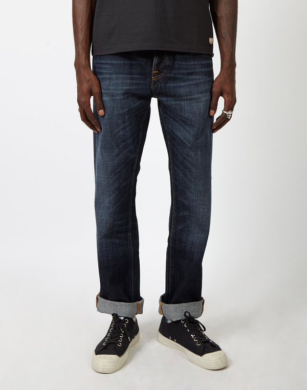 Nudie Jeans Co - Sleepy Sixten Jeans Authentic Dark