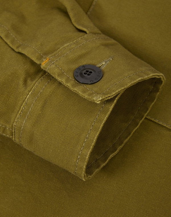 Nudie Jeans Co - Sten Swedish Army Shirt Green