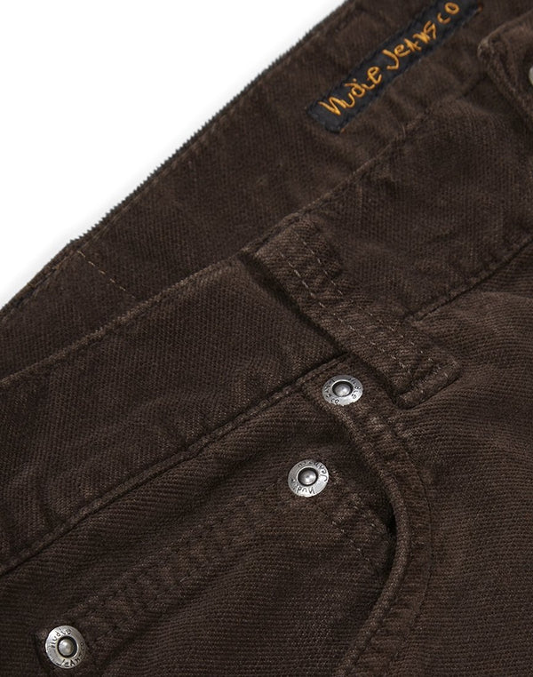 Nudie Jeans Co - Grim Tim Velvet Jeans Brown