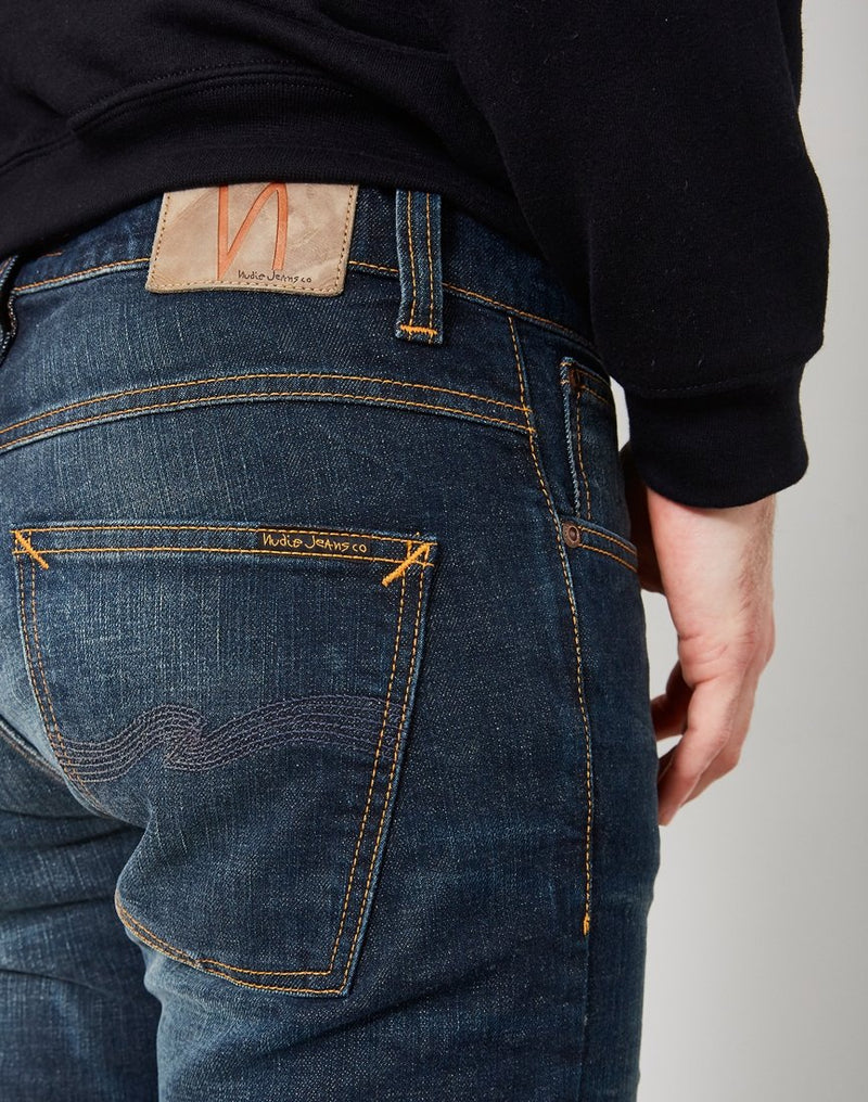 Nudie Jeans Co - Lean Dean Dry Light Cool Jeans Blue