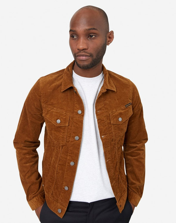 Nudie Jeans Co - Billy Corduroy Denim Jacket Tan