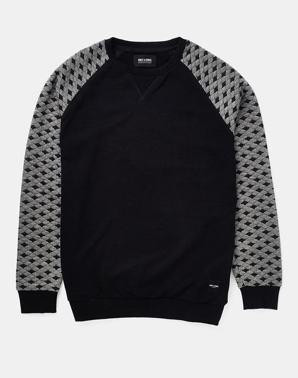 Only & Sons - Jacquard Crew Neck Sweatshirt