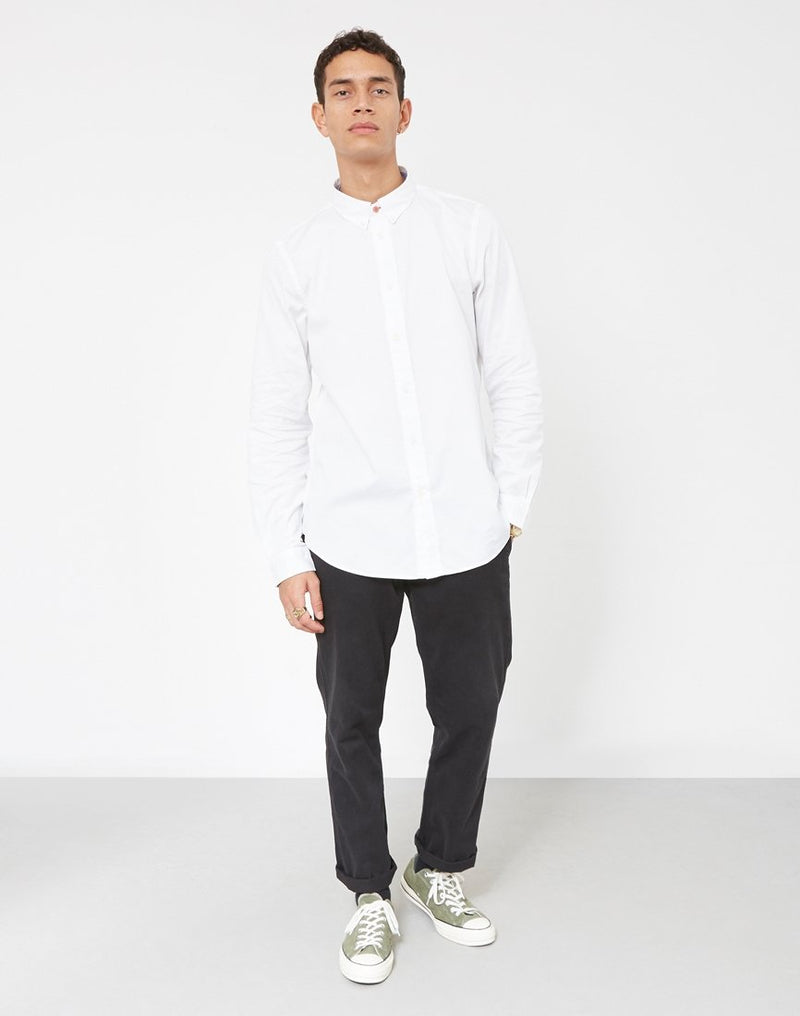 Paul Smith - Tailored Long Sleeve Shirt White