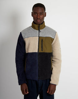 Penfield - Mattawa Colourblocked Fleece Blue